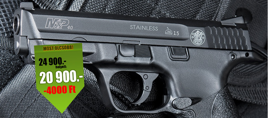 Smith & Wesson M&P 40 Metal CO2