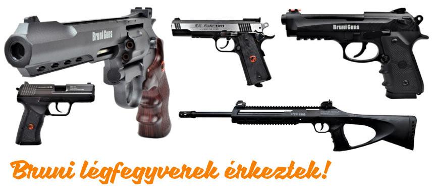 Bruni légfegyverek
