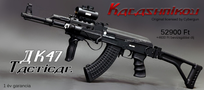 Kalashnikov AK47 Tactical Folding Stock