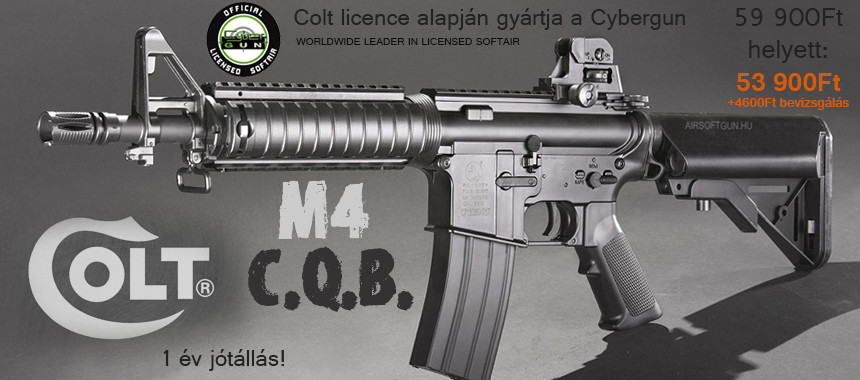 Colt M4 CQB black