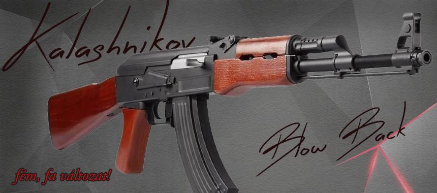AK47 FÉM/FA Blow-back