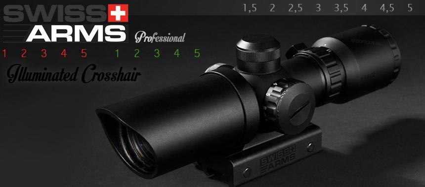 Swiss Arms 1.5-5x32 távcső