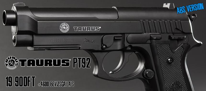 Taurus Pt 92 polimer CO2