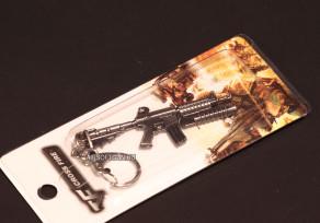 Fém kulcstartó M16