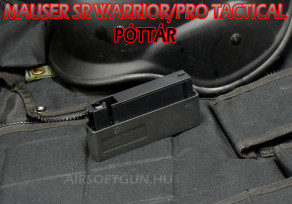 Mauser (spring) póttár