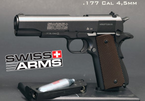 Swiss Arms P1911 GBB(4.5mm légpisztoly)