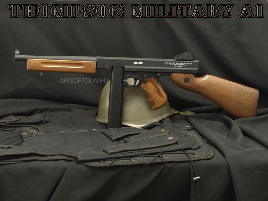 Airsoftgun - Thompson M1A1 Military[430900]