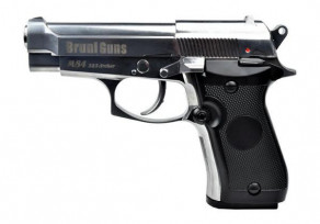 Bruni M84 FULL METAL SILVER