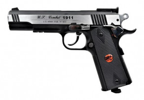 Bruni 1911 FULL METAL SILVER
