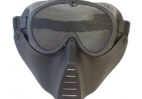 Dróthálós védőmaszk * fekete