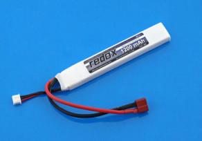 Redox Li-Po akku 7.4V 1200mAh 20C