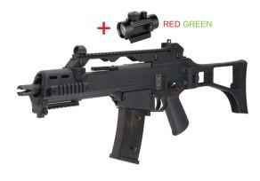 SA G12 - G36C BLOW BACK red dottal