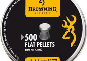 Browning 4,5mm lapos léglövedék