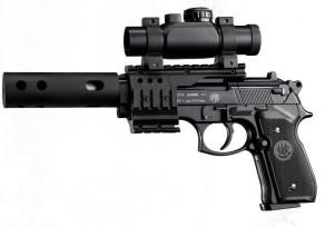 Beretta M92 FS XX-Treme Co2 légpisztoly szett 4,5mm