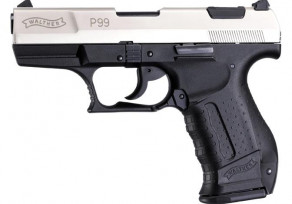 Walther P99 Nikkel gázpisztoly 9mm PAK