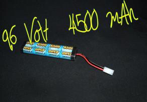 E-power 9.6v 4500 mAh akkumulátor