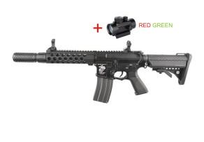 SA K04 AR SILENCER Red-dottal