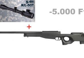 Well Mauser SR + Boshile távcső